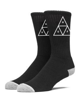 HUF Socken Triple Triangle Crew schwarz