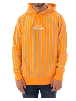 HUF Sweat & Pull Sutter Stripe orange
