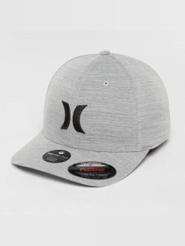 Hurley Casquette Flex Fitted Cutback gris