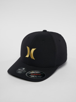 Hurley Flexfitted Cap Dri Fit One & Only Flexfitted čern