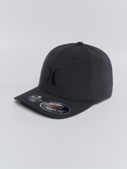 Hurley Flexfitted Cap Cutback schwarz