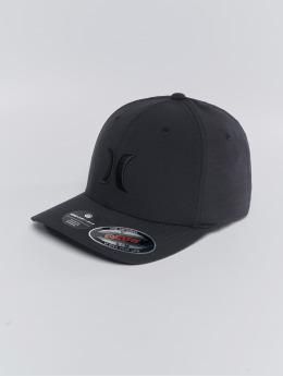 Hurley Lastebilsjåfør- / flexfitted caps Cutback svart