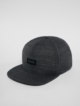 Hurley Snapback Caps Dri Fit Staple čern