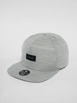 Hurley Snapback Caps Dri Fit Staple šedá