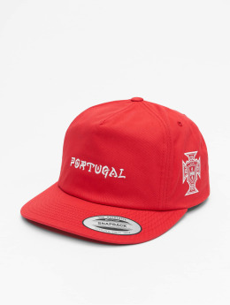 Hurley Snapback Caps Portugal National Team red