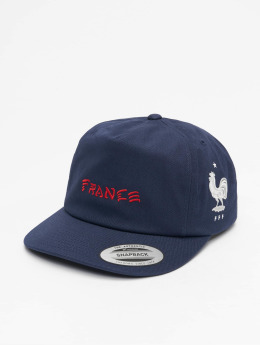 Hurley France National Team Snapback Cap Obsidian