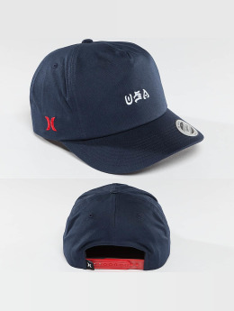 Hurley USA National Team Snapback Cap Obsidian