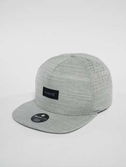 Hurley Snapback Caps Dri Fit Staple szary