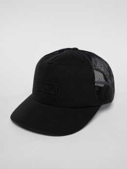 Hurley Trucker Cap Waxed black
