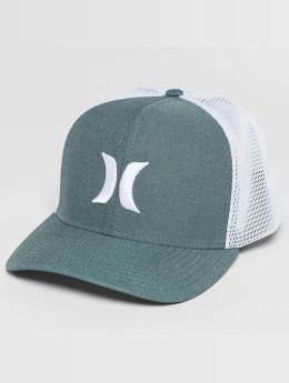 Hurley trucker cap One & Textures blauw