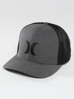 Hurley trucker cap One & Textures zwart