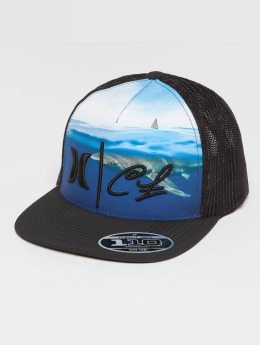 Hurley Trucker Caps Clark Little Shark svart