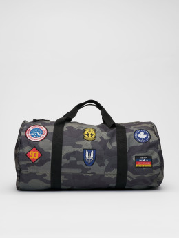 HYPE Bolso Camo Patches caqui