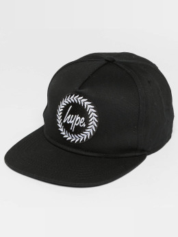 HYPE Snapback Cap Crest schwarz
