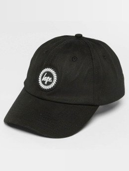 HYPE Snapback Caps Crest Dad Hat czarny