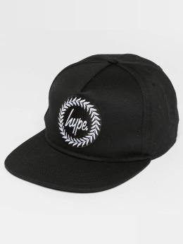 HYPE Snapback Caps Crest czarny