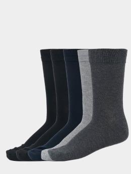 Jack & Jones jacJens Socks 5-Pack Dark Grey Melange