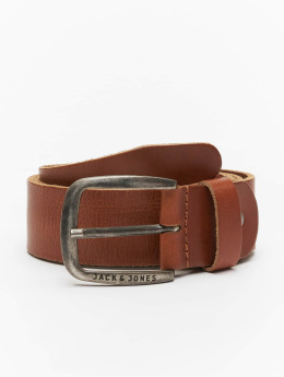 Jack & Jones Belt jjiPaul jjLeather brown