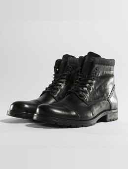 Jack & Jones jfwMarly Leather Boots Black