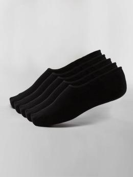 Jack & Jones Ponožky jacBasic Multi Short 5-Pack èierna