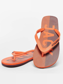 Jack & Jones Sandali jfwLogo arancio