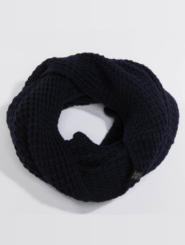 Jack & Jones Scarve / Shawl jacWaffle Knit blue