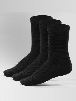 Jack & Jones Sukat Fipo 3-Pack Cotton musta