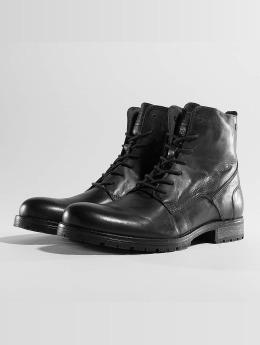 Jack   Jones Vapaa-ajan kengät jfwOrca Leather musta eb5be07512