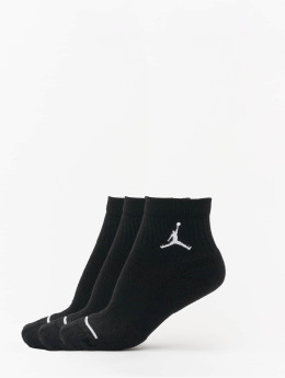 Jordan Носки Jumpman High-Intensity Quarter черный