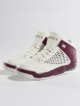 Jordan Baskets Flight Origin 4 Grade School blanc