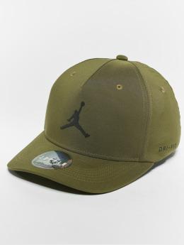 Jordan Flexfitted Cap Jumpman CLC99 olivová