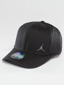 Jordan Snapback Caps CLC99 Metal Jumpman musta