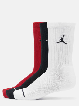 Jordan Socken 3 Pack Cotton Crew schwarz
