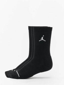 Jordan Sukat 3 Pack Cotton Crew musta