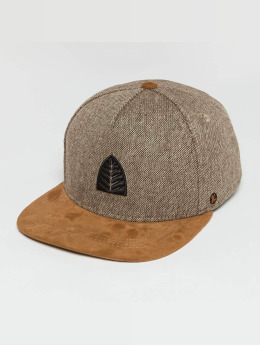 Just Rhyse 5 Panel Caps Iparia hnědý