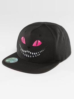Just Rhyse Snapback Cap Grinning Cat black