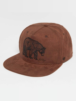 Just Rhyse Snapback Cap Glennallen brown