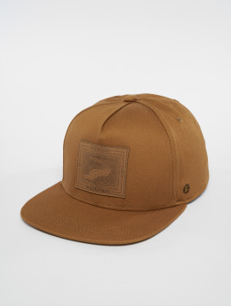 Just Rhyse Snapback Cap Coripata brown