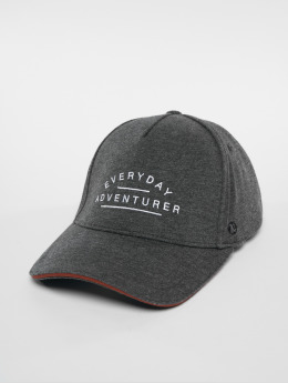 Just Rhyse Adventurer Snapback Cap Grey