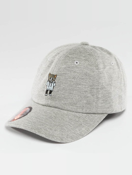 Just Rhyse Cat Daddy Shape Cap Grey Melange
