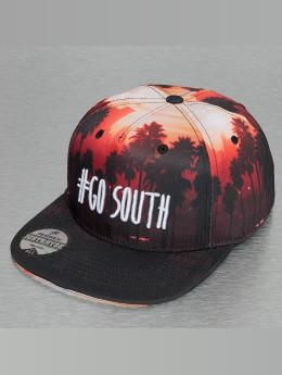 Just Rhyse Snapback Cap Go South nero