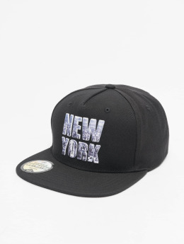 Just Rhyse Snapback Cap New York Style schwarz