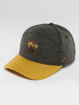 Just Rhyse Snapback Caps Kenny Lake Curved Fit grå