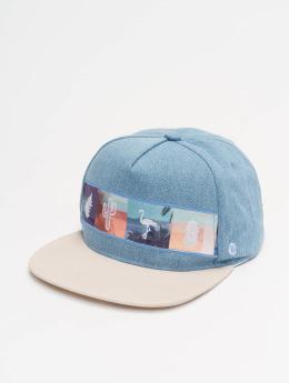 Just Rhyse Snapback Caps Acocollo modrý