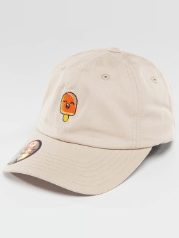 Just Rhyse Snapback Caps Popsicle ruskea