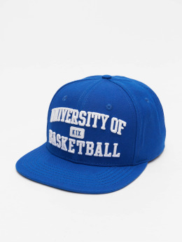 K1X Snapback Cap University of Basketball blue