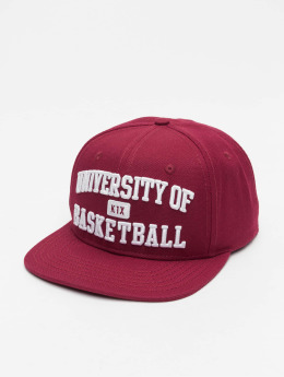 K1X Snapback Cap University of Basketball rot