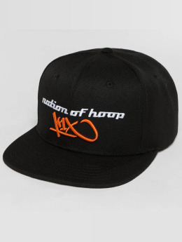 K1X Snapback Caps Atomatic musta