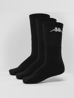 Kappa Socken Sonotu 3 Pack schwarz