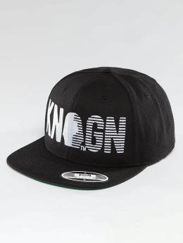 Kingin Snapback Caps Logo svart